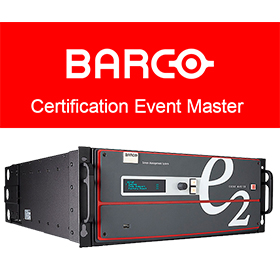 Formation Barco Event Master France