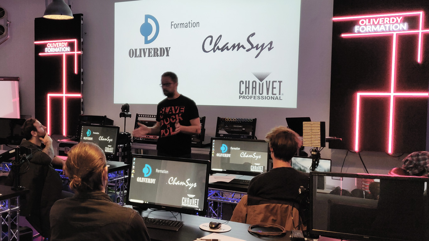 Chamsys france formation