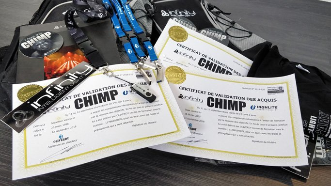 Formation chimp 300 France-