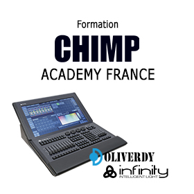 Formation chimp 300 infinty academy France
