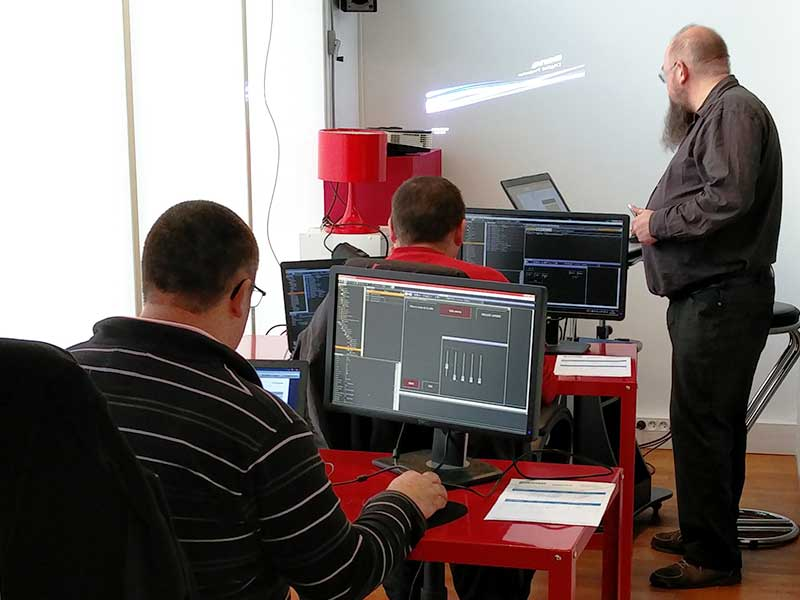 Formation medialon show control Oliverdy-
