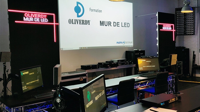 Formation Mur-led Oliverdy-