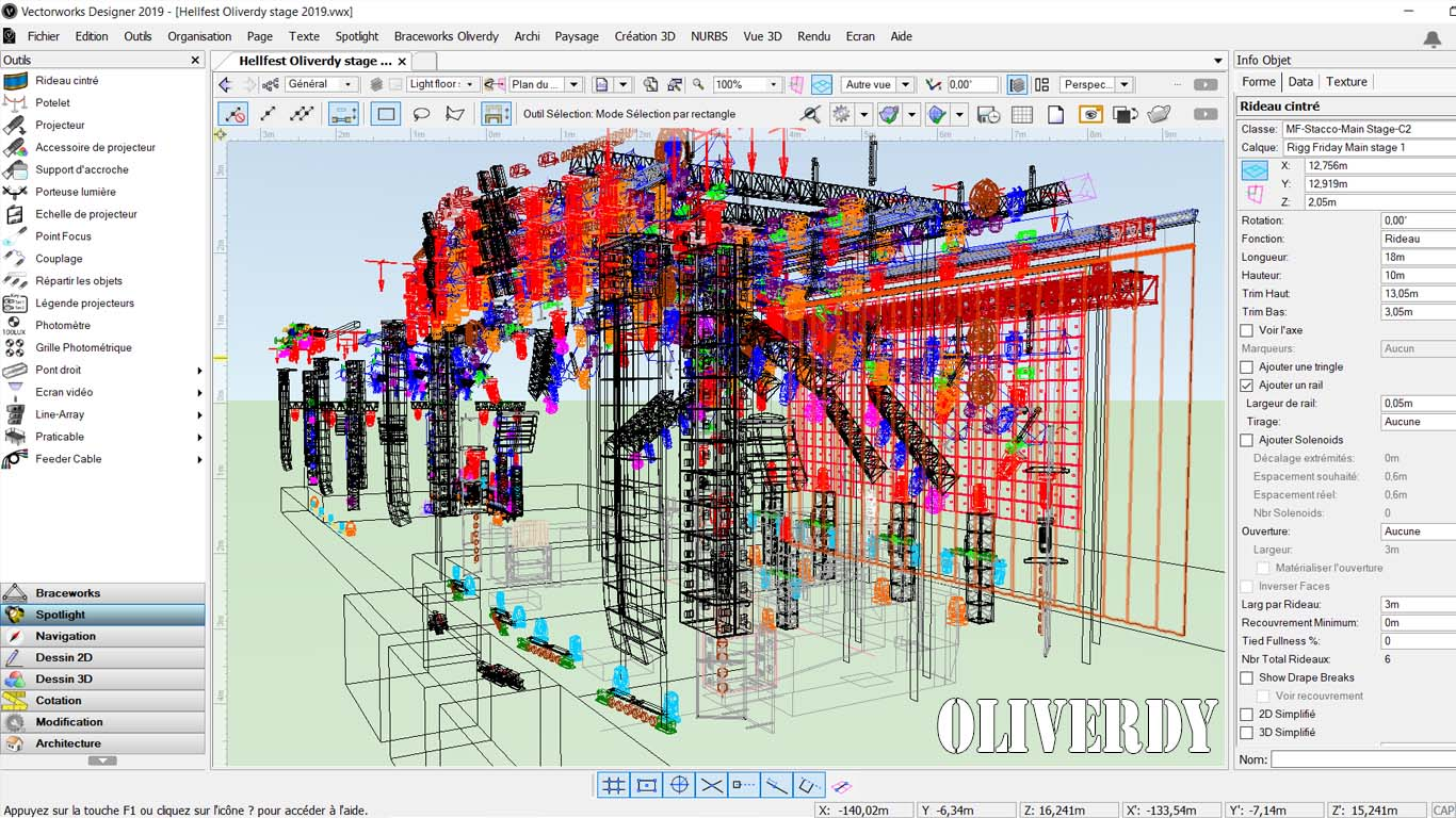 Formation Vectorworks Spotlight-