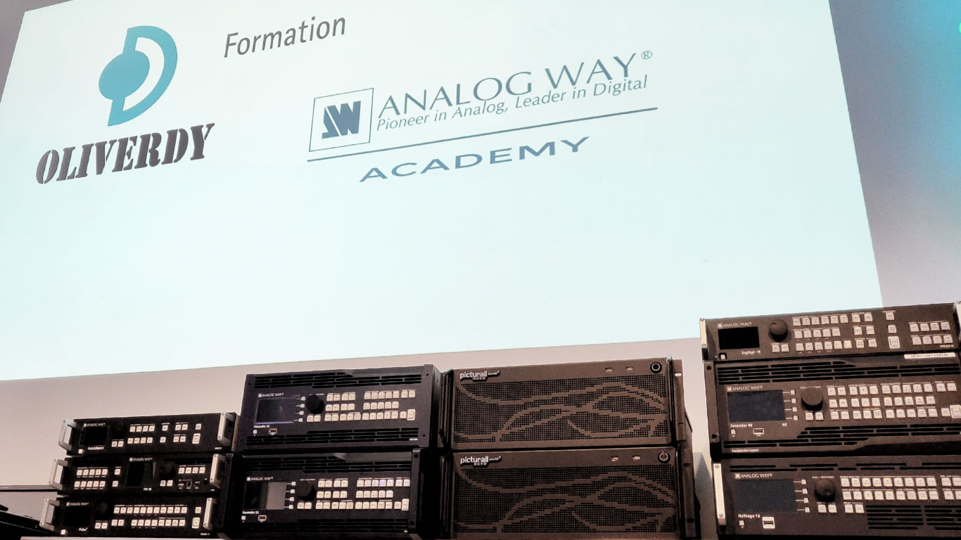 Formation Analogway Oliverdy