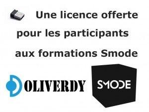 Licence Smode offerte aux participants