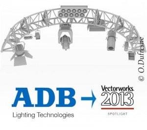 ADB inclut aux Symboles Vectorworks