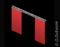 Vectorworks Spotlight tutorial l'outils rideau de scène