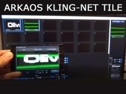 Kling-Net Tile Envoyer des images vidéo en temps réel sur votre téléphone