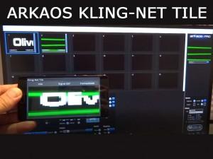 ArKaos Kling-Net votre téléphone en matrice LED