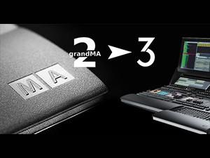 MasterClass GrandMA 2 et premiers pas sur la GrandMA3