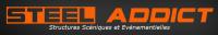 Steel Addict location de matériel : pistes de danse, scènes couvertes, crash barrière, tour. Vaucluse, Cavaillon, Avignon, 84, Provence, Lubéron.