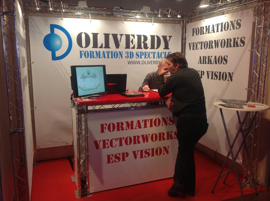 Oliverdy au JTSE 2013 stand C16 face à nexo